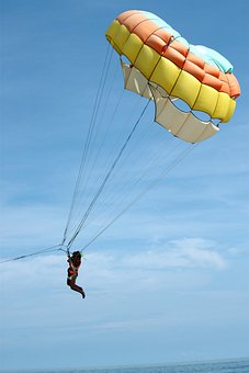 Parasailing, Controllable Parachuting, Parachute, Fly