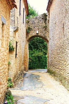 France, Dordogne, Périgord, Village, Limeuil