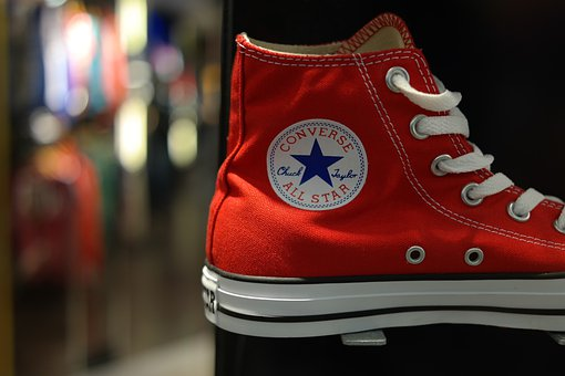 Shoe, Sneaker, Red, Fashion, Shoelaces, Sole, Run