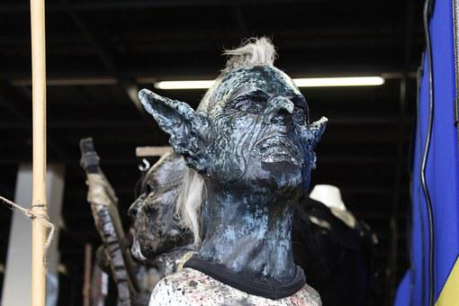 Rpc, Cologne, Role Play Convention, Mask, Orc, Fantasy
