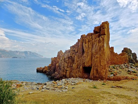 Coast, Rocks, Shore, Seaside, Sardinia, Seashore