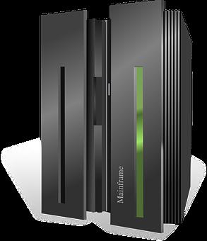 Computer, Mainframe, Server, Icon, Rack, Cloud