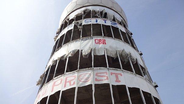 Teufelsberg, Berlin, Interception Station, Cia