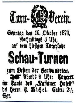Newspaper Ads, Off, The, Rheinland, To, 1870, Old