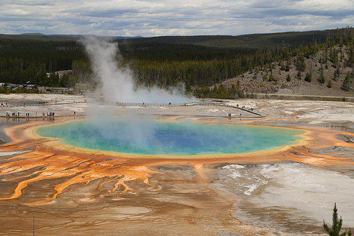 Grand Prismatic, Views, The Scenery