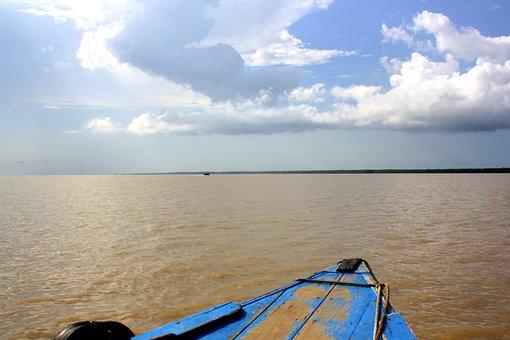 Amazone, River, Boat Ride
