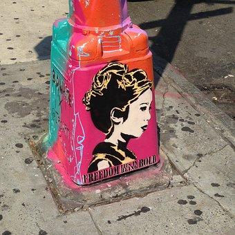 Street Art, New York, Art, Graffiti, Chinatown, Nyc
