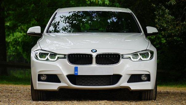 Automobile, Bmw, Bumper, Car, Headlamps, Headlights