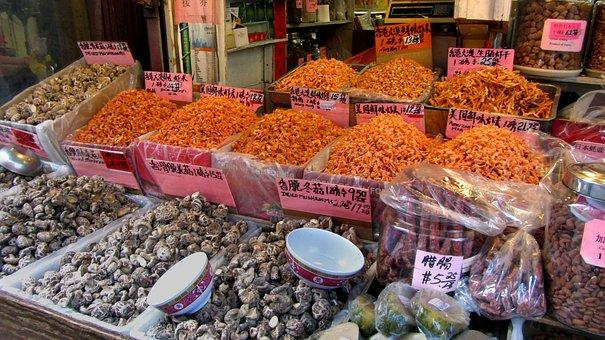 Chinatown, Manhattan, Business, Food, Market, Music