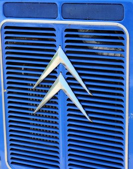 Citroën, Truck, Blue, Mark, Van