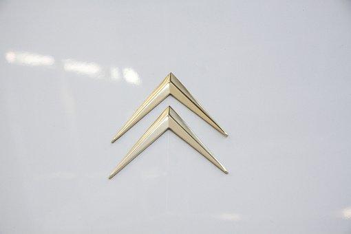 Citroën, Ds 21, Automotive, Coat Of Arms, Signet, Logo