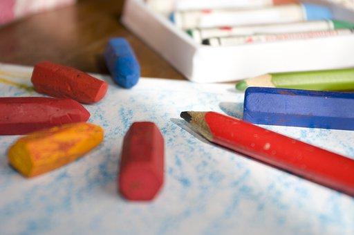 Color, School, Kindergarten, Crayon, Pencil, Drawing