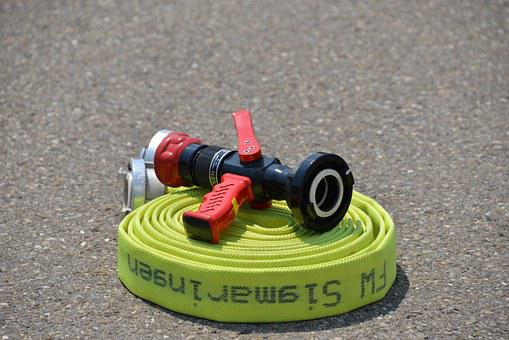 Fire Hose, Water Hose, Fire, Water, Syringe