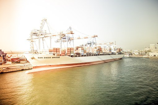 Port, Container Ship, Container, Terminal, Freighter