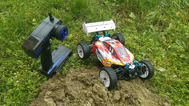 Remote Controlled, Game, Model, Small Car, Buggy