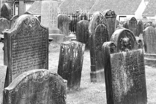 Tombstones, Graveyard, Graves, Cemetery, Grave, Spooky