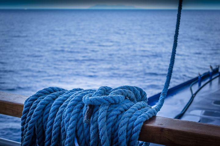 Rope, Hawser, Travel, Sea