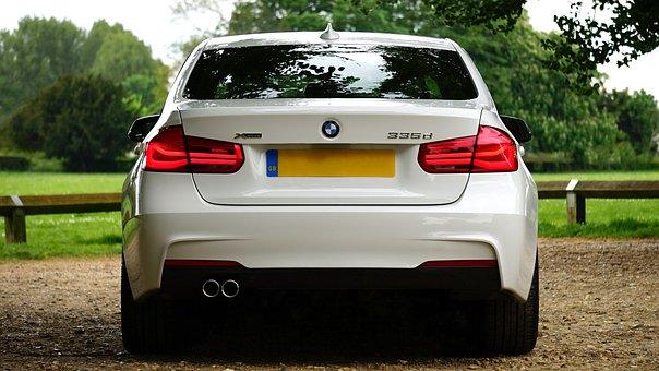 Automobile, Bmw, Car, License Plate, Luxury, Vehicle