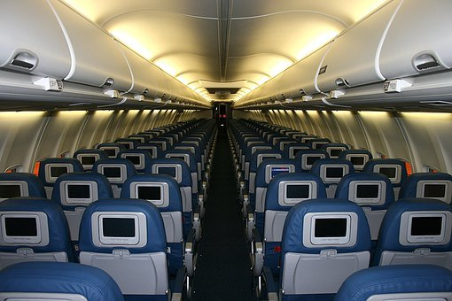 Cabin, Aircraft, Luggage Compartments, Interior