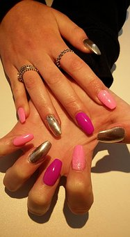 Nail Art, Nails, Fingernails, Fingers, Manicure, Makeup