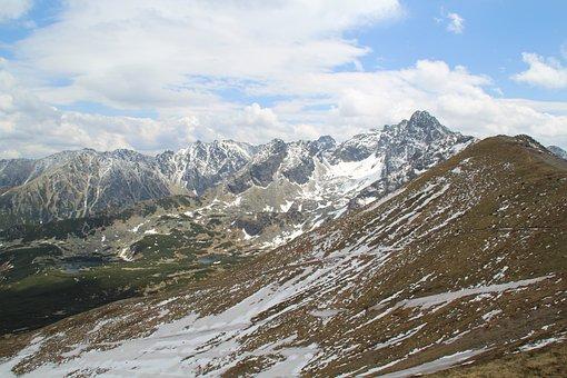 Kasprowy Wierch, Panorama, View, Mountains