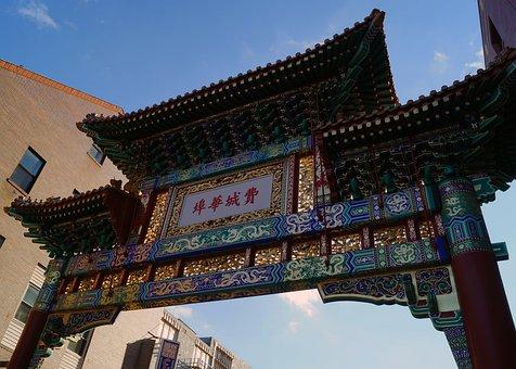 Chinatown, Philadelphia, Pennsylvania, Gateway, Archway