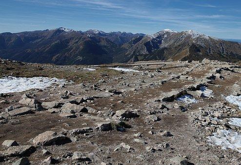 Polish Tatras, The Stones, Rocks, Mountain Path