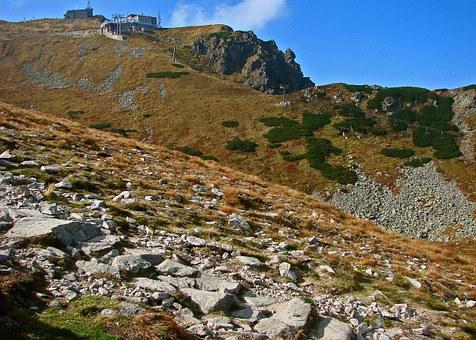 Polish Tatras, The Stones, Rocks, Stok, Slope