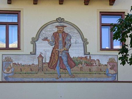 Starnberg, Lüftlmalerei, House Picture