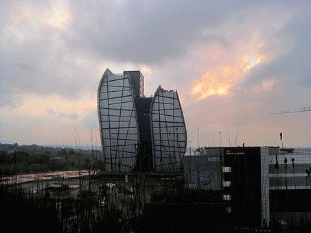 Evening, Twilight, The Evening Sky, Clouds