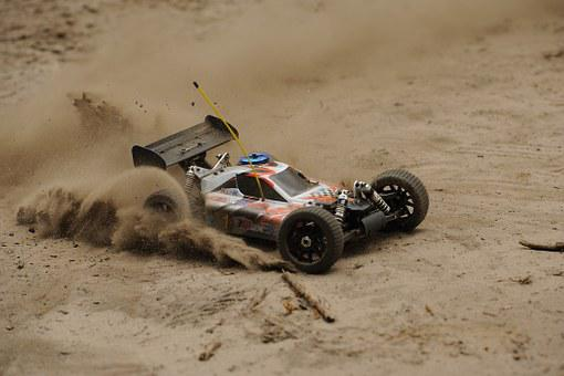 Auto, Remotely Controlled, Toys, Race, Sand, Speed