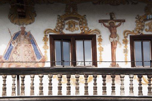 Lüftlmalerei, Lueftelmalerei, Upper Bavaria, Art Form
