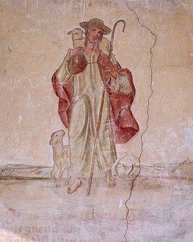 Mural, Lüftlmalerei, Painting, Wall, House, Facade