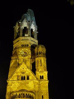 Berlin, Dom, Church, Gedaechtsniskirche, Landmark