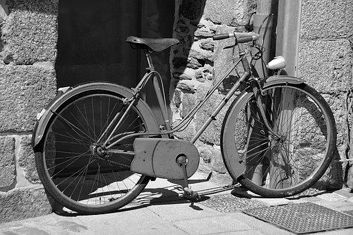 Bike, Bicycle, City, Two Wheels, Street, Unusual