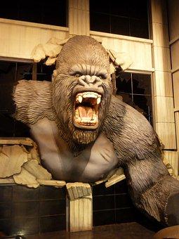 King Kong, Wax Museum, Wax Figure, Branson