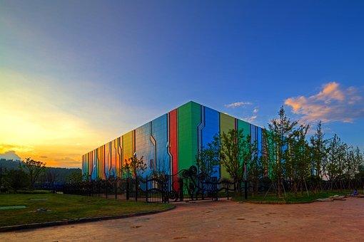 Changzhou Play Valley, Fantasy World, Sunset