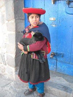 Cusco, Peru, Cusco Festival, Quechua, Girl