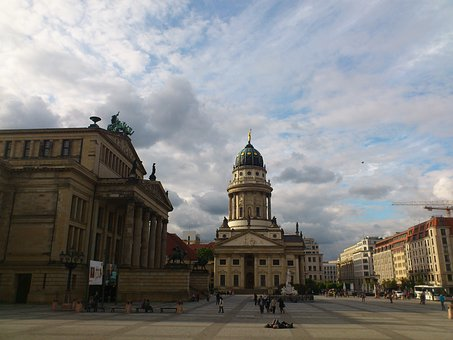 Gendarmenmarkt, Berlin, Capital, Dom, Dome, Building