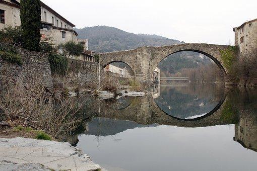 Europe, France, Languedoc, Cévennes, Gard, Arre, River