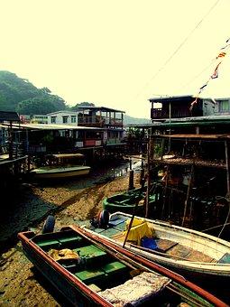 Tai O, Fishing, Village, Hong, Kong, Tai, Traditional