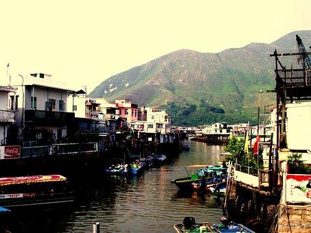 Tai O, Hong Kong, Kong, Hong, China, Asia, Chinese