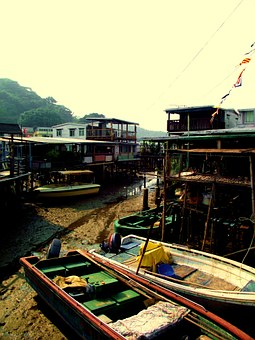 Tai O, Fishing, Village, Hong, Kong, Tai, Traditional