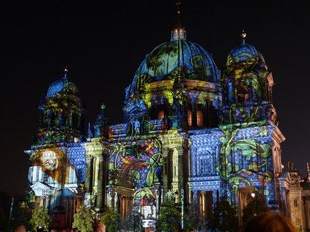 Berlin, Dom, Landmark, Berlin Cathedral, Building