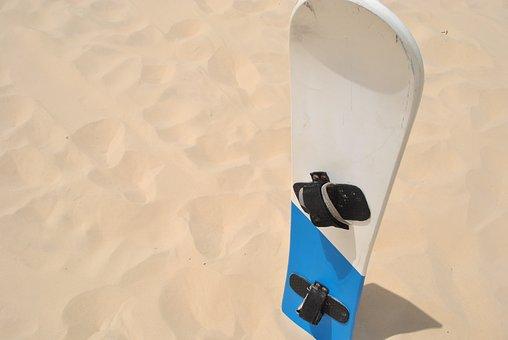 Sandboard, Sand, Florianopolis, Brazil, Landscape