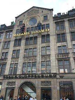 Amsterdam, Madametussauds, Museum, Vip, Wax Figures