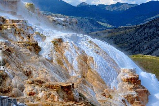 Frozen, Geology, Landscape, Mountains, National Park