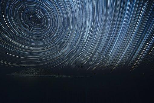 Hellada, Greece, Nightshot, Lowlight, Stars, Perseids
