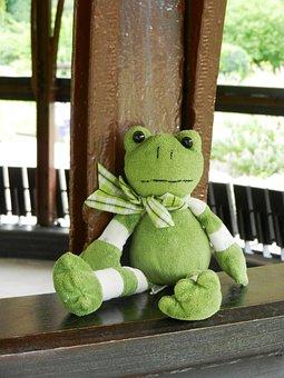 The Frog, żabka, The Mascot, Green, Plush, Pet, Beast