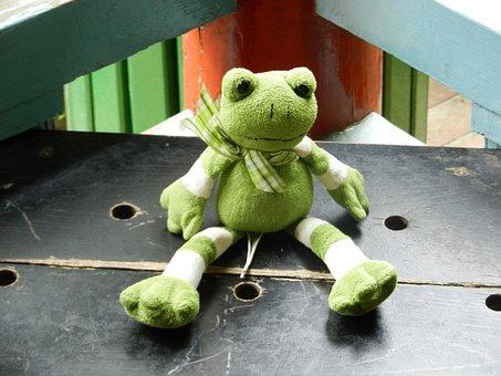 żabka, The Frog, The Mascot, Plush, Pet, Toy, Eyes